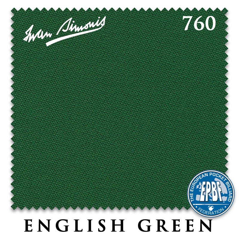 Сукно Iwan Simonis 760 English Green