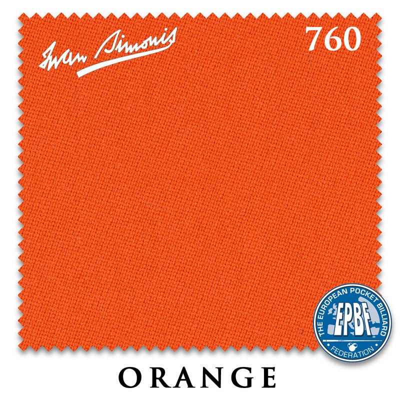 Сукно Iwan Simonis 760 Orange